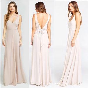 Show Me Your Mumu Jenn Maxi Dress BridesMaid Beige